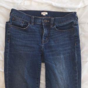 J'crew pencil jeans